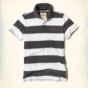 Hollister/Guys stretch Icon Polo Shirts