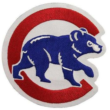 Chicago Cubs Home Sleeve Walking Bear Patch