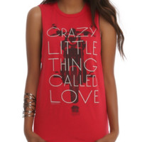 Queen Crazy Love Muscle Girls Top
