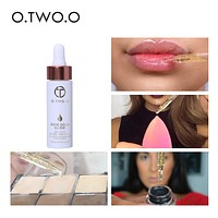 O.TWO.O 24K Gold Vitamin Oil for Face Lip Make Up Moisturizing Anti-aging For All Skin Types Mix Power or Foundation Primer