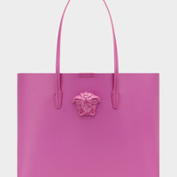 Versace Medusa Multi color Leather Tote Bag for Women | US Online Store