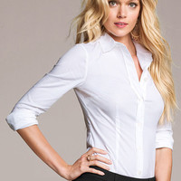 Fitted Poplin Shirt - Victoria's Secret