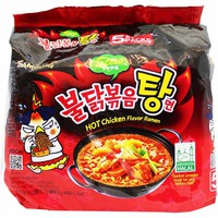 Samyang Spicy Chicken Stew Style Ramen 5 - 5.1 oz. packs (145g)