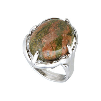 Hot! Selles Best Fashion Women Selles Ring  Women Silver Plated   Multi-color stone
