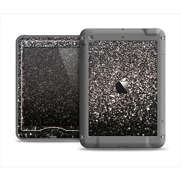 The Black Unfocused Sparkle Apple iPad Mini LifeProof Nuud Case Skin Set