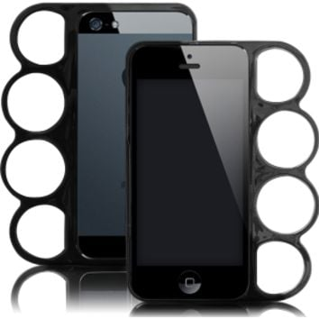 Black Knuckle Duster iPhone Case for iPhone 5/5s
