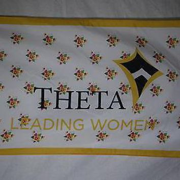 Kappa Alpha Theta 2 College Sorority Official Licensed Flag 3x5