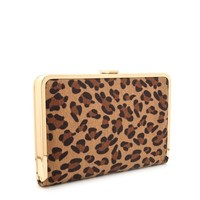 Beaming Leopard Clutch