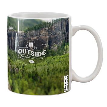 Beautiful Cliffs - Go Outside AOP Printed 11oz Coffee Mug All Over Print by TooLoud