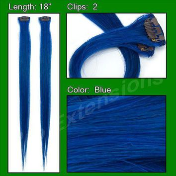 (2 PCS) Blue Highlight Streak Pack