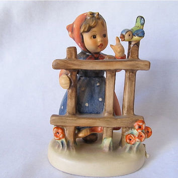 "Hummel 203 2/0 ""Signs of Spring"" Figurine TMK 5"