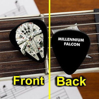 Star Wars Millennium Falcon Promo Limited edition Guitar Pick Pic