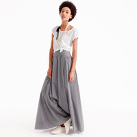 Ball skirt in gingham : Women ready-to-party collection | J.Crew