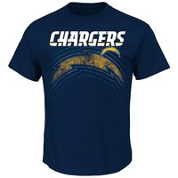 Majestic San Diego Chargers Empty Backfield Tee