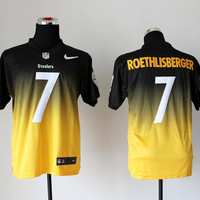 Football Sports Jersey Men Women Youth Kids Ben Roethlisberger Pittsburgh Steelers 7