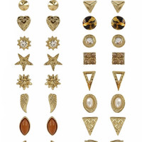 Sienna Gold Stud Collection