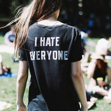 Nikola I HATE EVERYONE Top - Brandy Melville