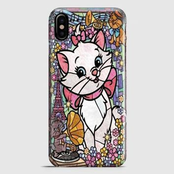 Marie Cat DisneyS The Aristocats Stained Glass iPhone X Case