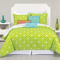 Trina Turk Trellis Comforter Set in Lime