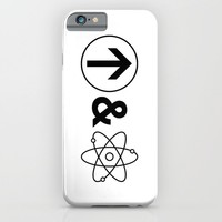 Up&Atom. iPhone & iPod Case by Moop