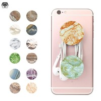 MT Pop Phone Holder Grip Mount Stand Universal Socket Used for Mobile Phone Stone Pattern Finger Ring Stander Air Sockets