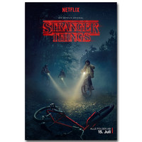 Netflix's Stranger Things Night Mission Silk Poster Print -  Various Sizes
