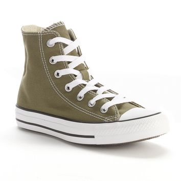 Converse All Star High-Top Sneakers for Boys (Green)