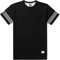 Black/Silver Mr.Metallic Greek T-Shirt