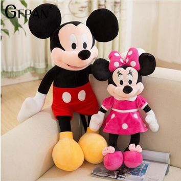 Stuffed Mickey & Minnie Mouse Toy