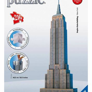 Empire State Building - 216 Piece 3D Jigsaw Puzzle