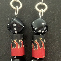 ❤ HoT rOd EaRriNGs ❤ roCkaBiLLy ❤ diCe❤ KiTScH ❤