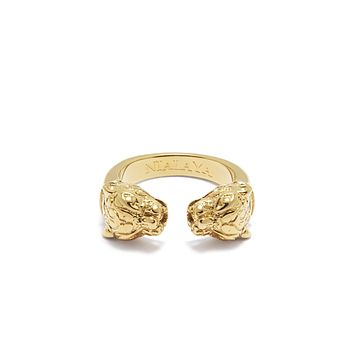 Panther Ring in Gold