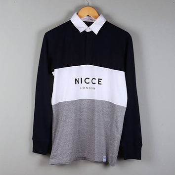 NICCE London Triple Panel Rugby Shirt