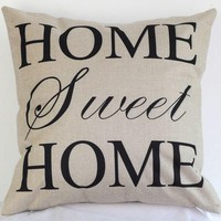 Day-First™ Sweet Home Pillow Cushion