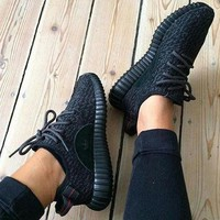 Adidas Women Yeezy Boost Sneakers Running Sports Shoes6
