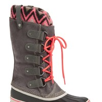 SOREL 'Joan of Arctic - Knit II' Waterproof Boot (Women) | Nordstrom
