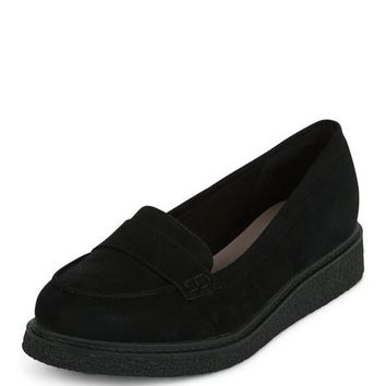 Black Creeper Loafers
