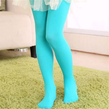 christmas blue clothing baby girls tights wapiti cotton tights kids girls pantyhose warm winter christmas's stockings 0-18.
