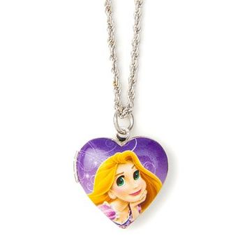 Disney Princess Rapunzel Locket Pendant Necklace | Claire's