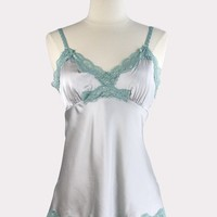 Seashell Cami in Silver Mint