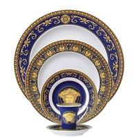 Medusa Blue 5 Piece Placesetting