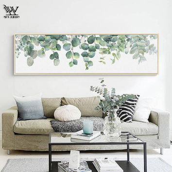 Posters and Prints Marvel Monstera Spring Decoration for Living Room Cactus Home Decor Wall Art Picture Modern Canvas Painting