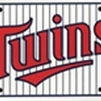 Minnesota Twins MLB Baseball License Plate Plates Tags Tag auto vehicle car front