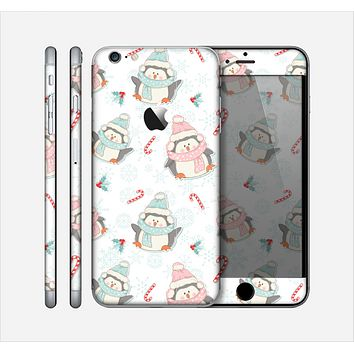 The Christmas Suited Fat Penguins Skin for the Apple iPhone 6 Plus