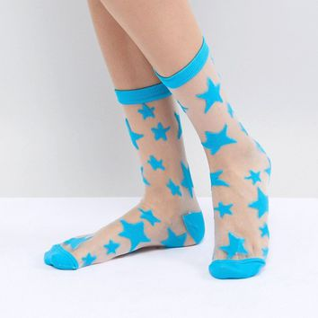 Gipsy Star Ankle Socks at asos.com