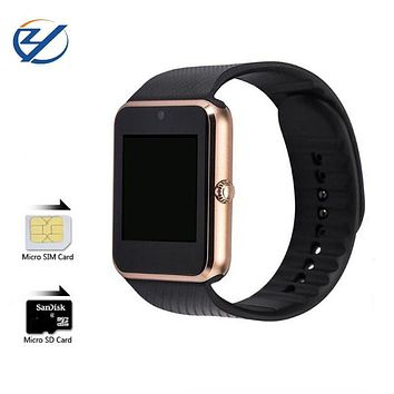ZAOYIEXPORT Smart Watch GT08 Wearable Devices Support Sim Card Reloj Bluetooth for Iphone Xiaomi Huawei Android Phone PK U8/DZ09