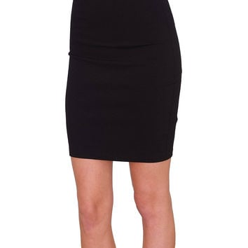 Sophia's Pencil Skirt - Black
