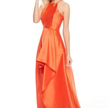 Coralee Coral Prom Formal Event Dress Gown
