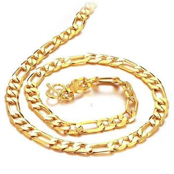 DCCKJ1A 18k Gold Plated Chain for Men F