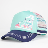 Roxy Dig This Womens Trucker Hat Mint One Size For Women 25096152301